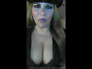 Mistress Samantha Paris Strapon Cop