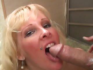 Classy Tattoo Blonde Milf Loves Her..